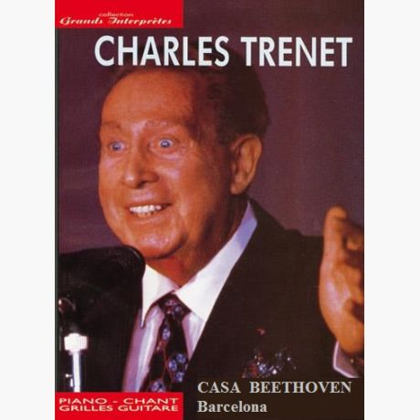 Charles Trenet (Grandes interprètes) (Piano - Voice - Guitar chords ...